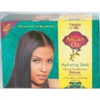 Hawaiian Silky Argan Oil Hydrating Sleek No-Lye Relaxer